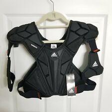 New Adidas Freak Flex Chest Pad Lacrosse Protective Gear Black Size Large CF9657