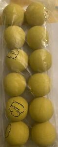 Sky Bounce Balls Yellow Color 12 Count Brand New Original