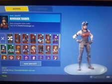 Random Fortnite account chance of getting rare skins READ DESCRIPTION