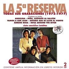 LA QUINTA  RESERVA-TODAS SUS GRABACIONES 1972-1977 -2CD