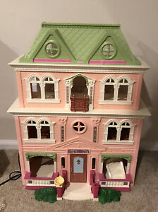 Fisher Price Loving Family Victorian Grand Mansion Dollhouse Large Play Fun