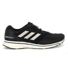 Adidas Women's Adizero Adios 4 Core Black/White/Black Running Shoes B37377 NEW