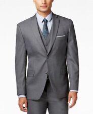 Ralph Lauren Men's (3 PC) Gray Sport Coat Suit 46 R Pants 36 x 36 NWT 100% Wool