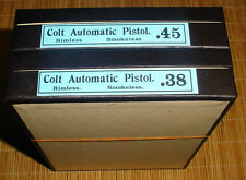 Colt 1905 45 & 38 Rare Colt Box
