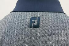 FootJoy West Shore Golf & Country Club Herringbone Polo Shirt Large