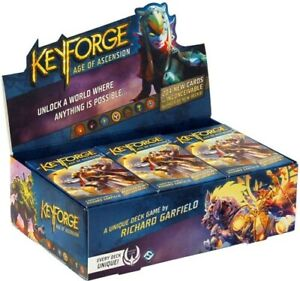 KeyForge: Age of Ascension Display Booster Box Sealed 12 Archon Decks