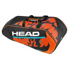 COVER HEAD MURRAY Radical 9R Supercombi Borsa Da Tennis-Nero/Arancione