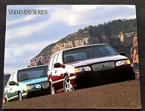 "ORIGINAL 1994 VOLVO 850 SERIES U.S. SALES BROCHURE 32 PAGES ~ 8.5"" X 11"" ~ 94850"