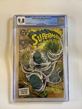 Superman: The Man of Steel #18 CGC NM/M 9.8 White Pages 1st Doomsday! 1st Print!