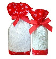 Valentine's Day Sweet Bags - Block Bottom Clear Cello Treat Anniversary Gift Bag