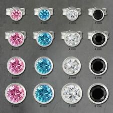 Gioielli di lusso multicolori zircone argento sterling