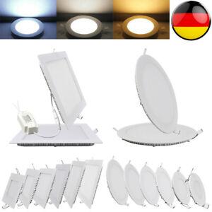 LED Panel Ultraslim Einbaustrahler Deckenleuchte Einbau Lampe Unterputz Aufputz