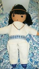 Rare 1977 DeGrazia Cloth Dolls Ish-Keen & Little Flora-Signed-Mib-Free Shipping!