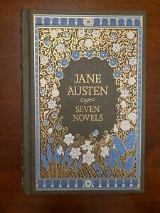 Jane Austen - Seven Novels - Barnes & Noble Leatherbound Classics