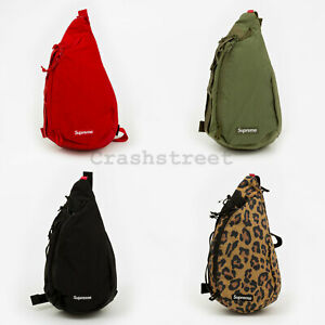 Supreme FW20 Sling Bag box camp cap tee logo bag shoulder waist duffle backpack