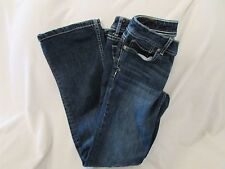 """Ladies """"Areopostale"""" Size 1/2, Blue, 'Chelsea', Boot Cut, Low Rise, Jeans"""