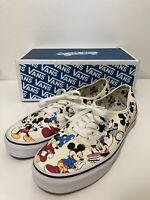 Seltene ???? Vans x Disney Slipper Mickey Maus Print Gr 3.5