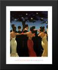 Waltzers 20x24 Black Wood Framed Art Print by Jack Vettriano