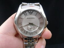 New Old Stock EMPORIO ARMANI AR1788 Stainless Steel Quartz Men Watch