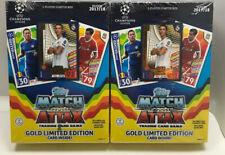 Topps Match Attax 2017/2018 Gold Limited Edition 2 Player Starter Box 2 Pack