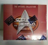 Star Trek The Next Generation Season 6 Collector Trading Unopened Card Box TNG