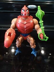 MOTU - Masters of the Universe - Clawful - figure - 100% Complete - Soft Head!!