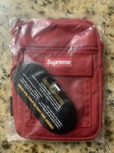 DS Supreme SS19 Red Utility Pouch Cordura Travis Mocha Brand New
