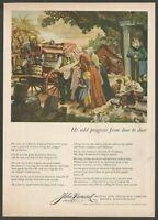 JOHN HANCOCK . Mutual Life Insurance Company . Boston - 1948 Vintage Print Ad