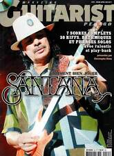 """GUITARIST Pedago #HS35 """"Comment bien jouer Santana"""" (revue)"""