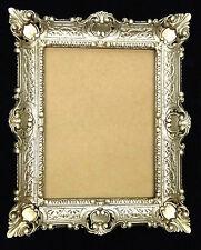 Marco Barroco Plata Antigua 56x46 De Foto espejo rectangular 30x40