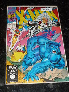 X-MEN Comic - No 1 - Date 10/1991 - MARVEL Comics
