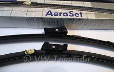 Genuine VW Passat 3C 2006-2015 CC 2009-2012 RHD Pair Aero Wiper Blades 3C2998002
