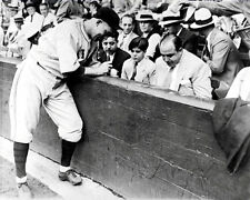 Al Capone Gabby Hartnett Photo 8x10 - 1931 B&w Buy Any 2 Get 1