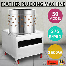 Chicken Plucker Machine Poultry Bantams Defeather Feather Plucking #50 S
