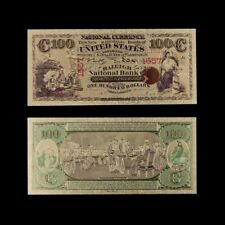 1975 Year Us Banknotes Usd 100 Banknote Bill 24k Plated  Collection Note