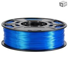 3D Printer Filament Gloss Shine 1.75mm PLA Blue Printing Material Reel 1kg 2.2Lb