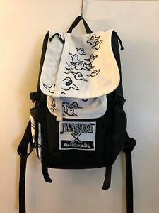 Jansport x Mark Gonzales zip flap backpack, The Gonz artwork