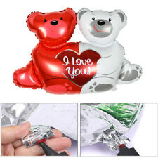 1 PC Holding Heart Aluminum Globose Cute Bear Foil Balloons Party Birthday Decor