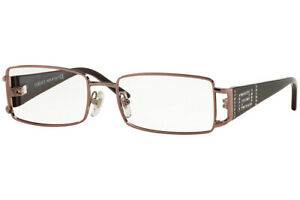 New VERSACE VE 1163-B 1333 52mm Plum Eyeglasses RX Frames Only Italy