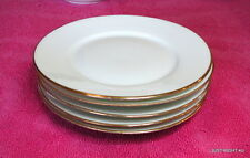 "{SET OF 5} Latrille Freres Limoges (Old Abbey LAT15) 6 1/4"" BREAD PLATES"