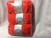 Lion Brand London Kaye LKYC Yarn 3 In Pack Color Stop Sign