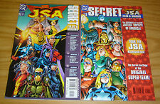 JSA Secret Files & Origins #1-2 VF/NM complete series - 1st appearance hawkgirl