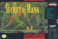 Secret Of Mana SNES Great Condition Fast Shipping