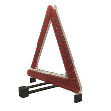 EMERGENCY WARNING HAZARD TRIANGLES WITH REFLECTORS AND FLASHING LIGHTS