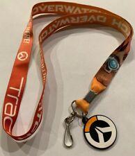 Overwatch Lanyard Orange Keychain New