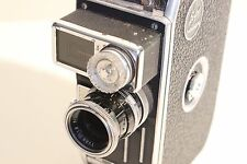 Paillard Bolex C8-SL 8mm Vintage MovieCine Camera With YVAR 13mm f1.8 Lens
