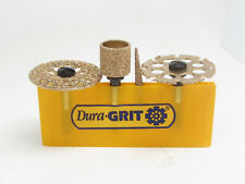 Woodcarving  Dura-Grit SR-YEL-004 High Speed Carbide Rotary Tool Set