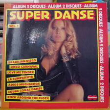 SUPER DANSE - VOL 1 SEXY COVER DOUBLE FRENCH LP CARABINE