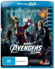 The Avengers 3D Only  (Blu-ray, 2014) Brand New & Sealed