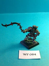 Warhammer Fantasy -Classic Chaos Warrior with Spiked Whip - Metal WF84